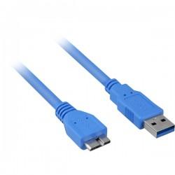 USB 3.0 A - USB Micro B, 1m