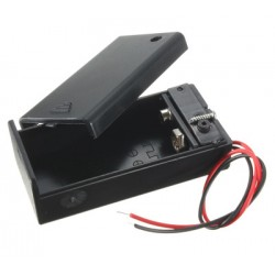 9V Batterijhouder