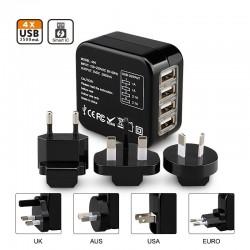 USB Travel adapterset