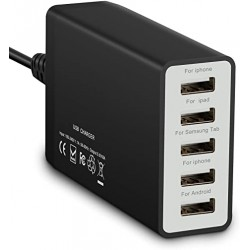 USB Power - 5 Outlets 8A