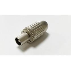 Coax plug Male Semi-Pro