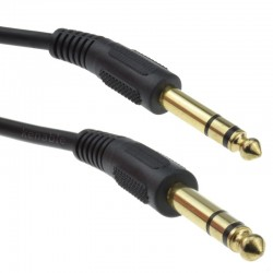 Jack 6.35mm Stereo, 3m