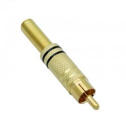 RCA Plug, Zwart