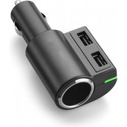 USB Autolader 3.4A + 12V