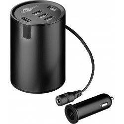 5x USB Cup holder Charger