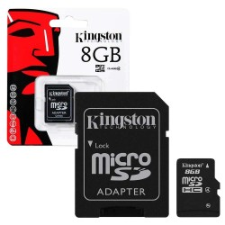 Memorycard MicroSD - 8GB