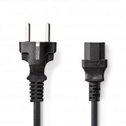 Randaarde kabel, 1.8m Recht