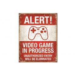 Reclamebord: Videogame in...