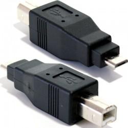 USB B - MicroUSB adapter