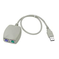 PS/2 naar USB kabel