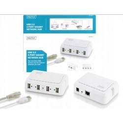 4-poorts Gigabit Netwerk Hub